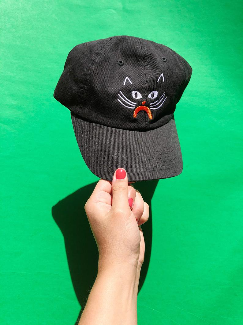 "Kristina Micotti - ""Black Cat"" Hat"