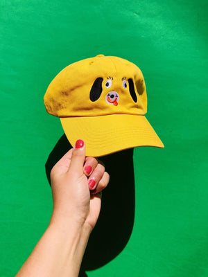 "Kristina Micotti - ""Yellow Dog"" Hat"