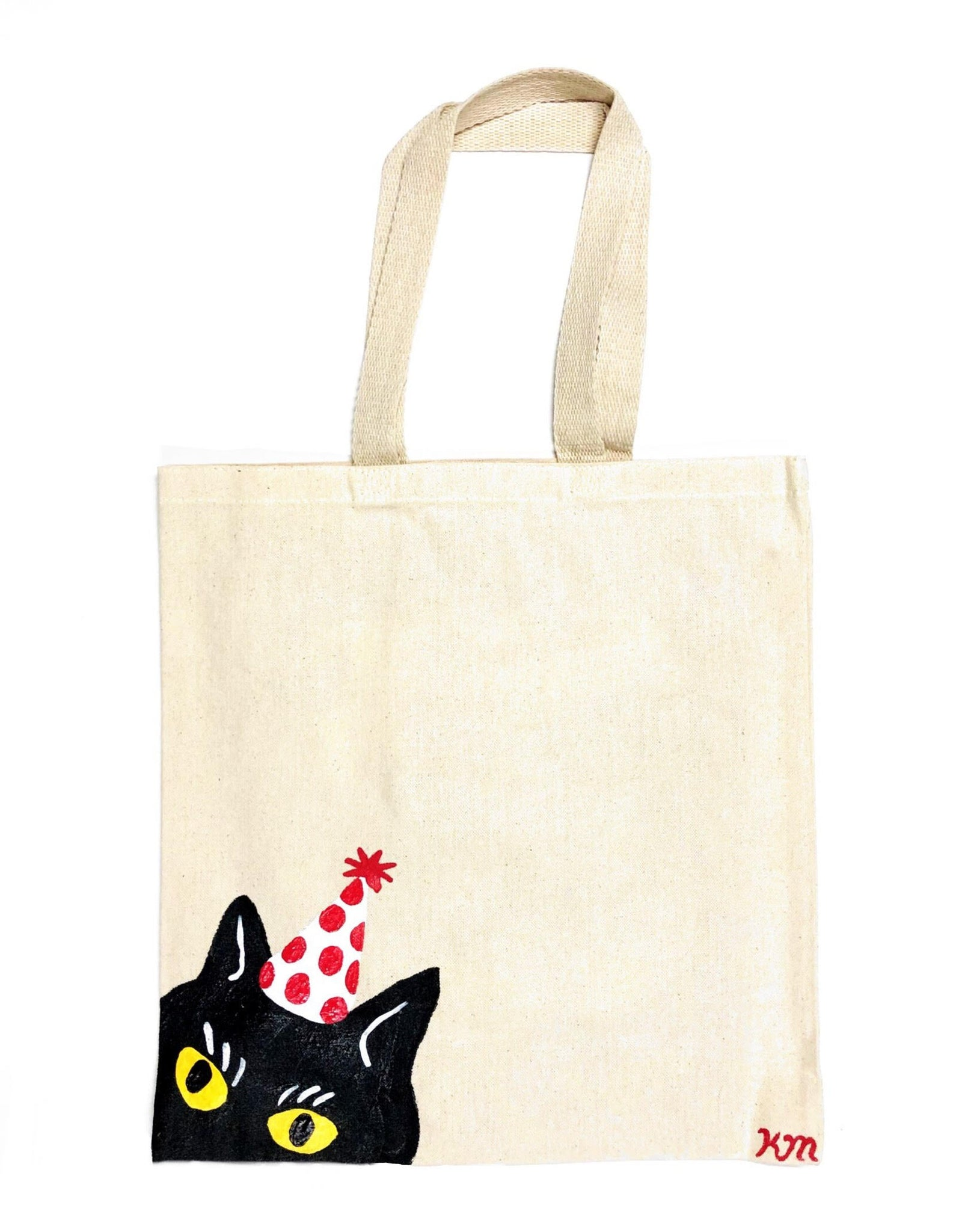 "Kristina Micotti - ""Party Cat"" Tote Bag"
