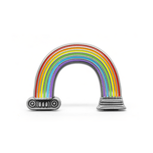 PSA Press - Rainbow Column Molded Pin