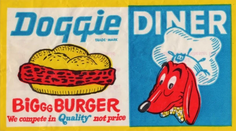 PSA Press - Doggie Diner Head Enamel Pin