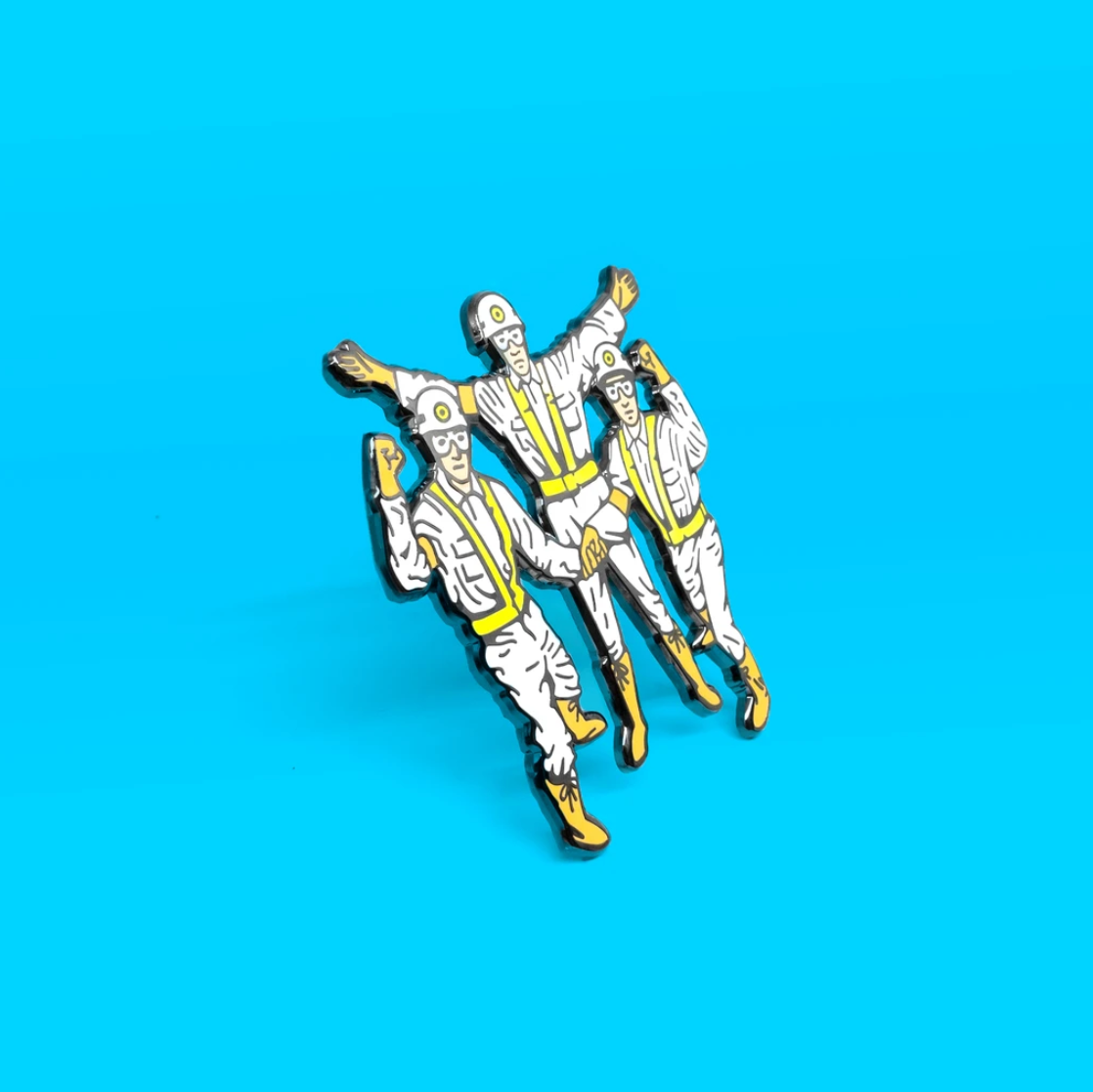 PSA Press - Intergalactic (Beastie Boys) Enamel Pin