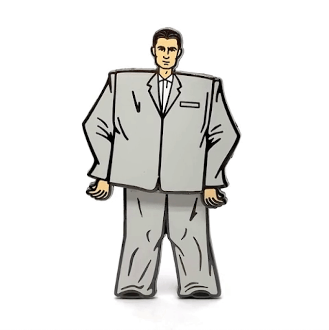 PSA Press - Stop Making Sense (David Byrne) Enamel Pin