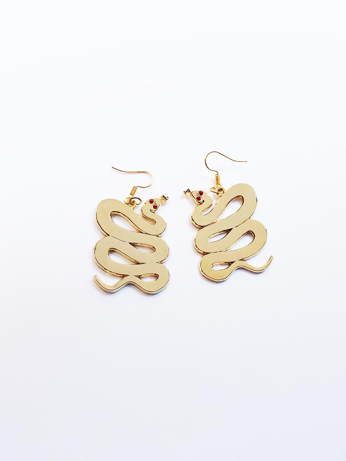 "Kristina Micotti - ""Snake"" Earrings"