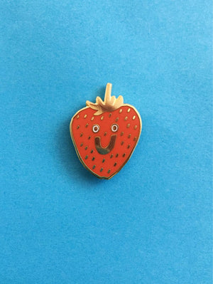 "Kristina Micotti - ""Strawberry"" Enamel Pin"