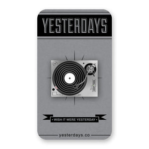 Yesterdays - Strictly Wax Enamel Pin