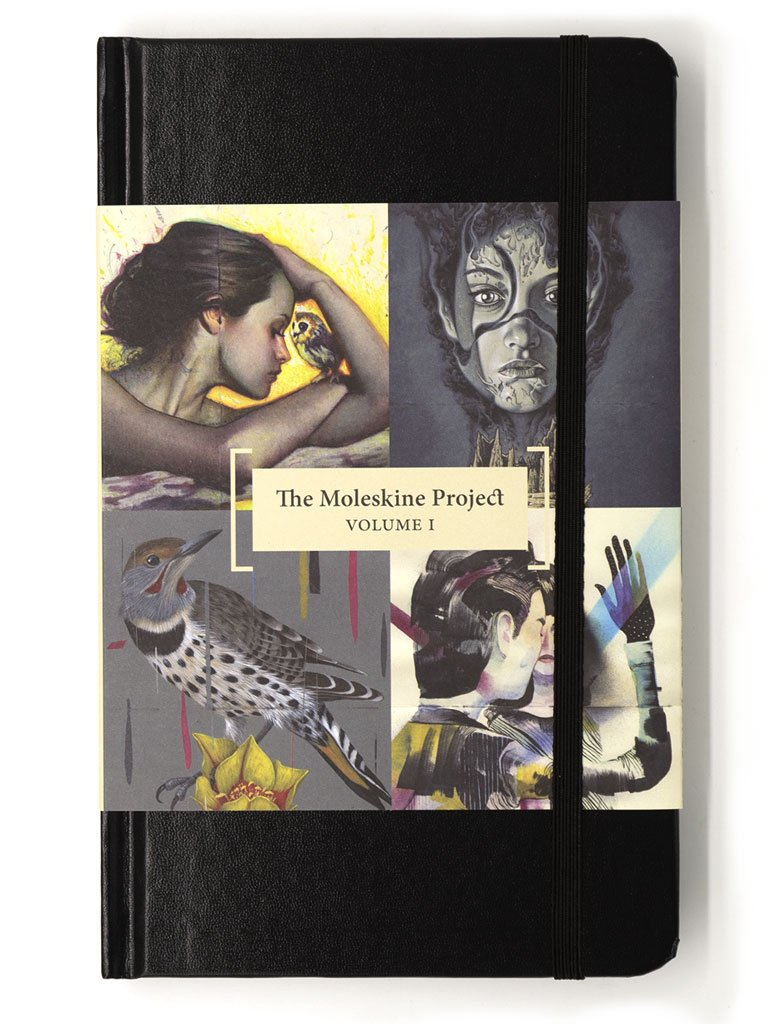 "Rodrigo Luff - ""The Moleskine Project: Volume One"""