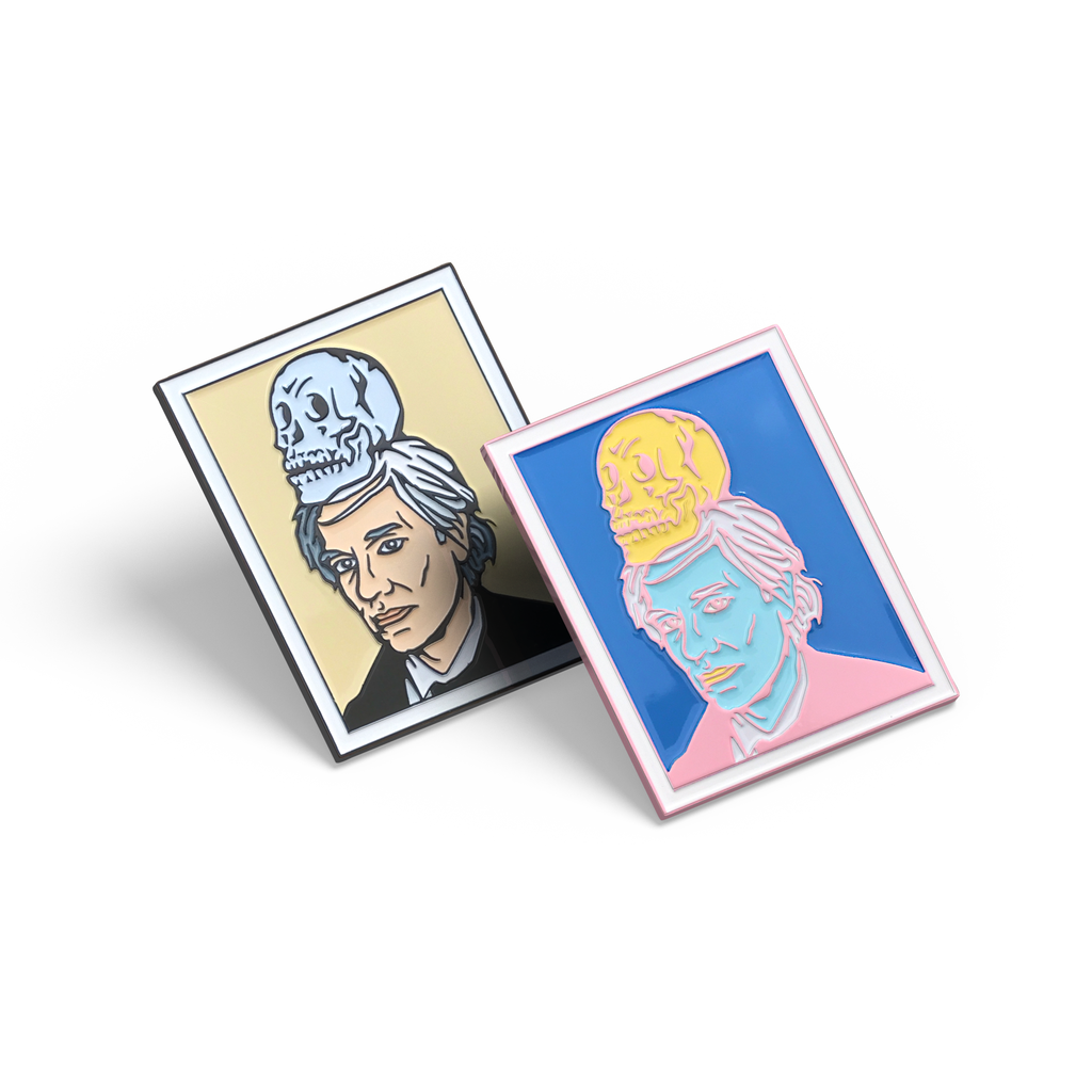 PSA Press - Warhol Polaroid Enamel Pin