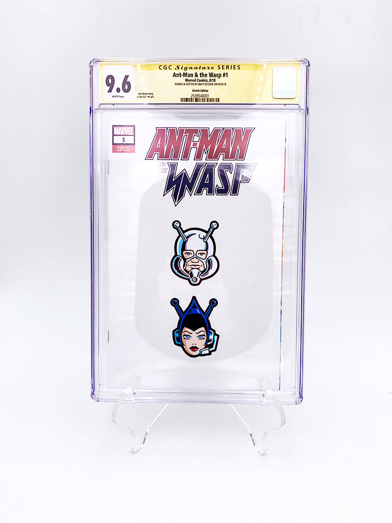 "Matt Ritchie - ""Ant-Man/Wasp CGC Comic"""
