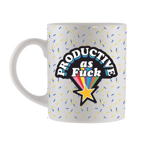 "Marie-Claude Marquis - ""Productive As Fuck"" Coffee Mug"