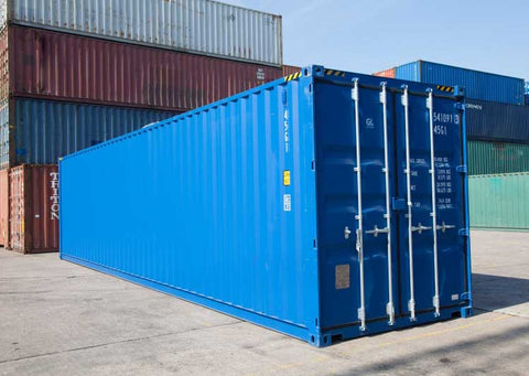 40 ft. high cube containers