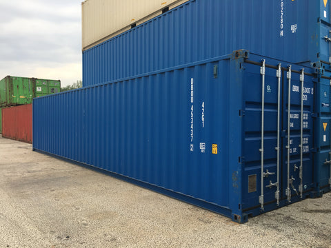 40 ft. zeecontainers