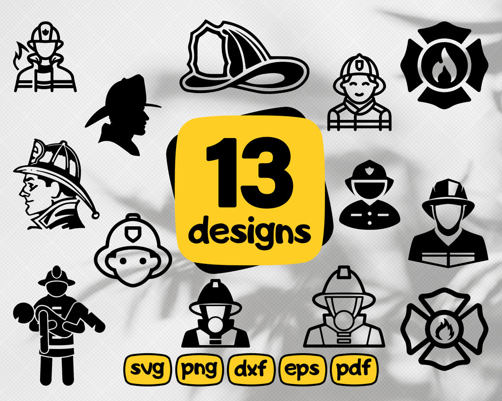 Fireman SVG Bundle * Firefighter SVG * First Responder* SVG * Cricut, Silhouette