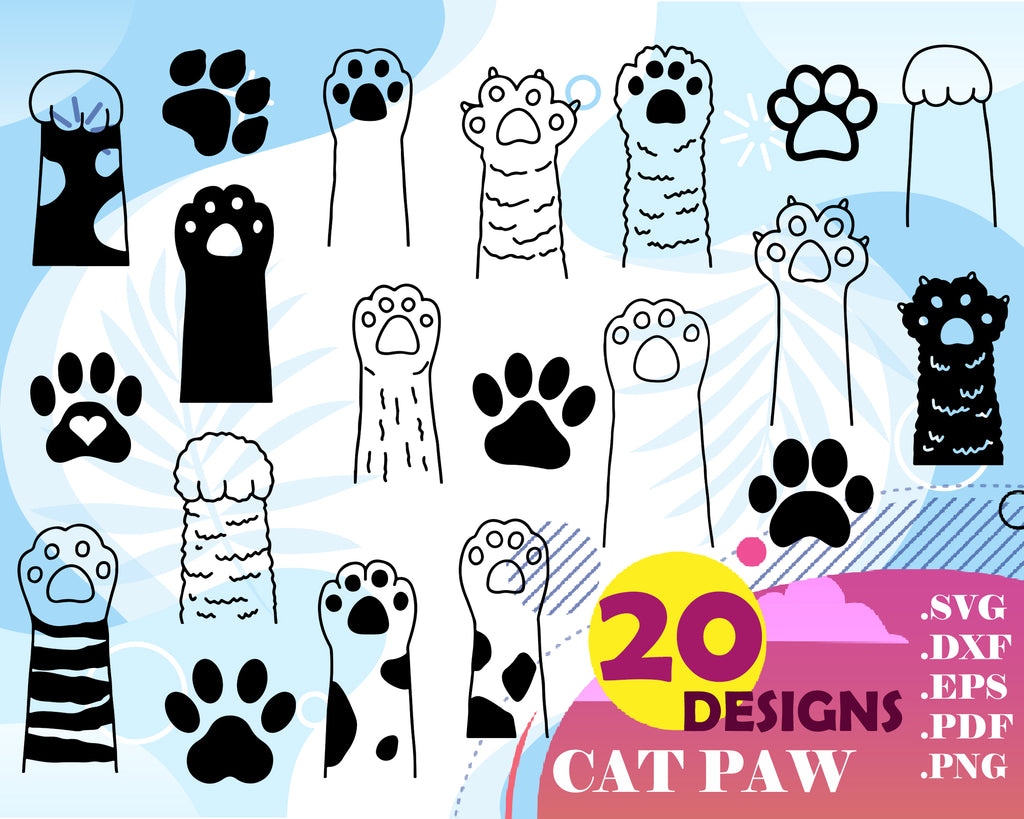 Paw Print Svg Paw Heart Svg Paw Print Monogram Paw Vector Dog Love Clipartic Free download 35 best quality cat paw silhouette at getdrawings. paw print svg paw heart svg paw print monogram paw vector dog love svg cat paw print dog paw svg silhouette clipart stencil decal animal