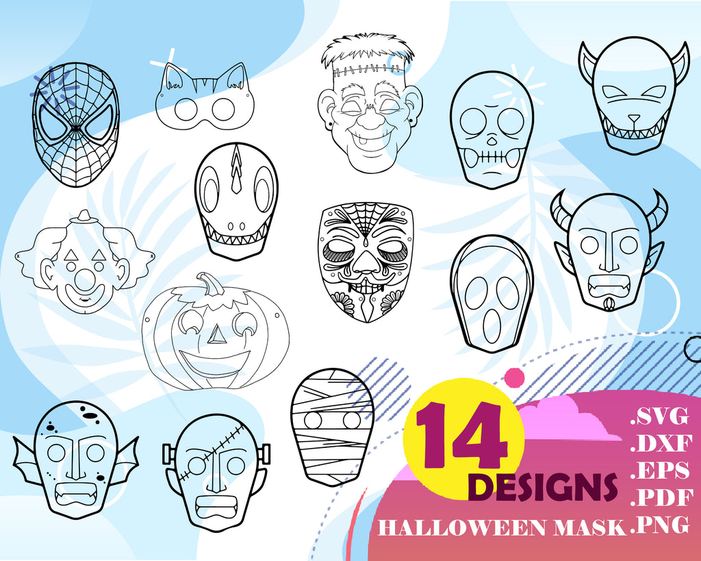 Halloween mask svg, Happy Halloween SVG, Happy Halloween PNG, Scream Mask, Halloween SVG, Halloween Png, Scream Svg, Witch Svg, Halloween Shirt, Scary Svg