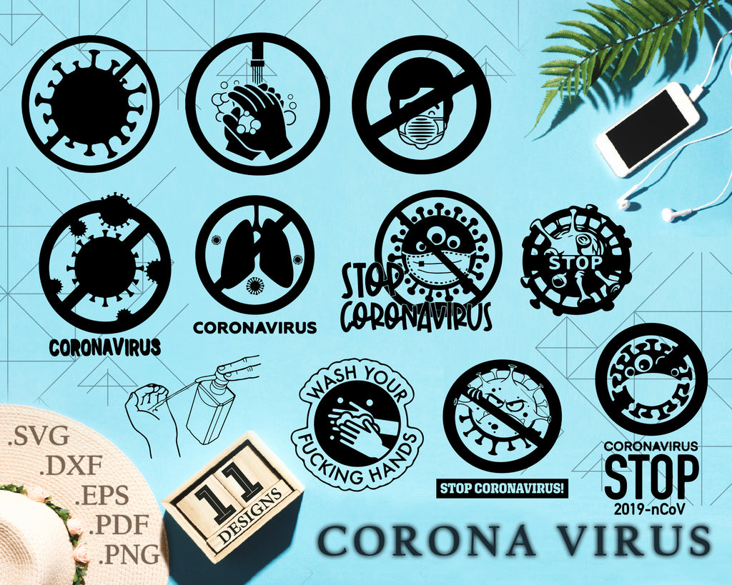 Coronavirus svg, covid-19, Corona Virus SVG,PNG - Digital Download - corona Virus File for printable art, planner, Virus sticker, Virus diy, Virus shir