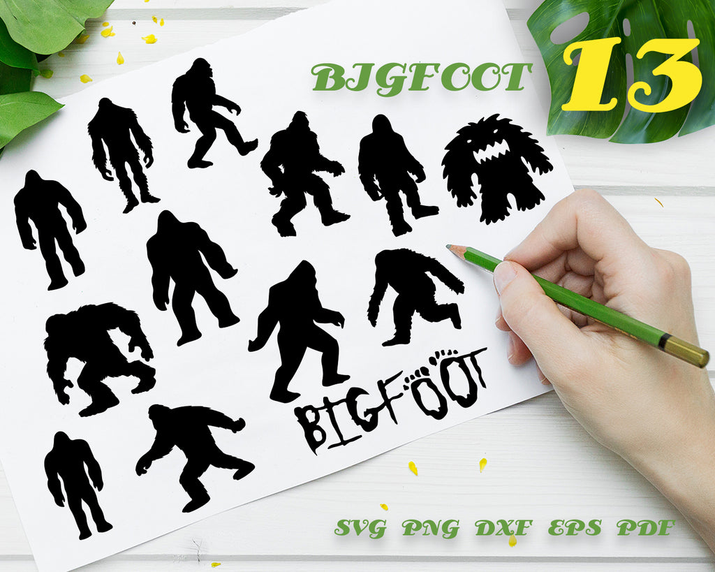 Bigfoot svg, Bigfoot Mega SVG Bundle, Bigfoot Cut File, Bigfoot Clipart, Yeti svg, Yeti Cut File, Bigfoot png, Bigfoot Sayings svg,Bigfoot search team