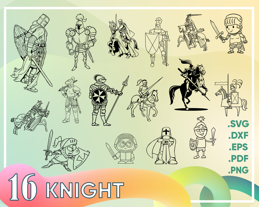 Knight svg, knight svg, warrior svg, trojan svg, spartan svg, soldier svg, medieval svg, clipart, decal, stencil, silhouette, image, eps, png