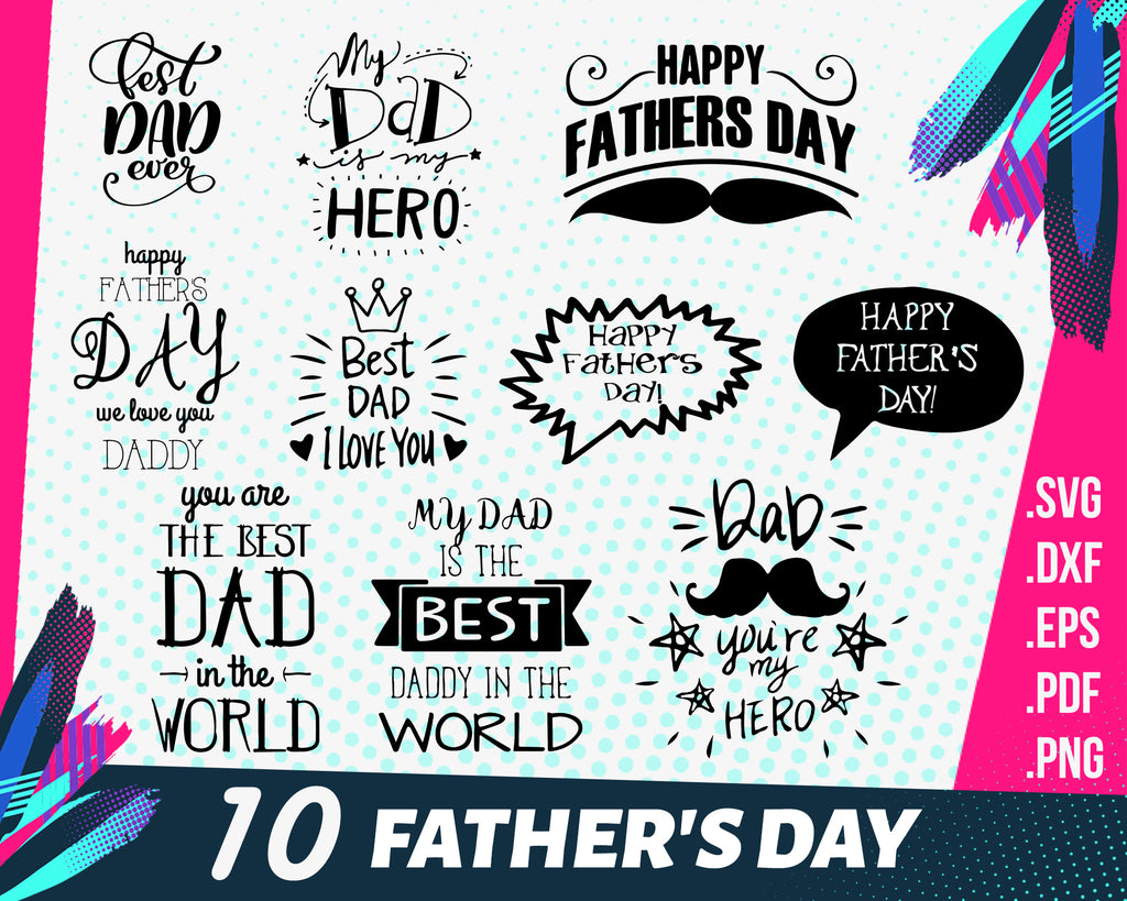 Father day svg, Dad SVG, Father's Day SVG, typography word art, Super Greatest Man of the year Sublimation - Cut File Shirt Design SVG, Eps, Dxf, Png