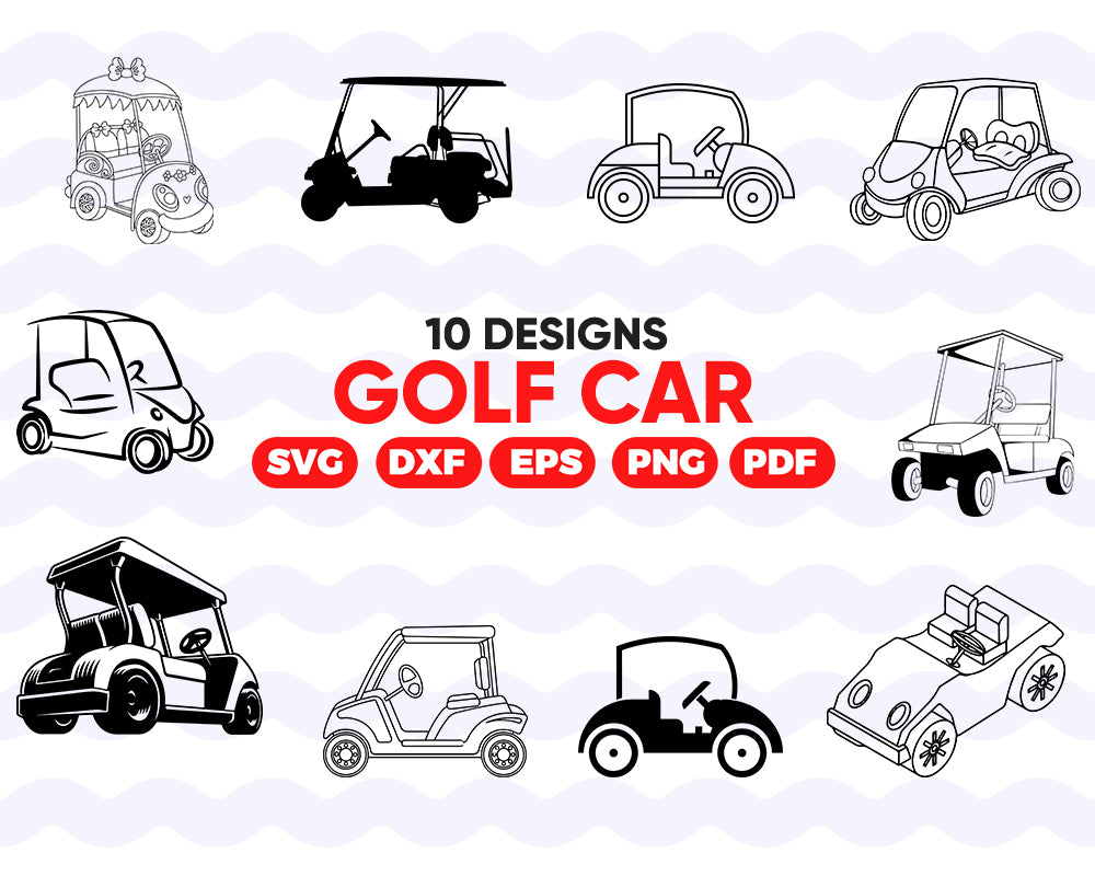 GOLF CAR SVG, golf, golf club, golf club, car, golf svg, golf clipart, svg files, golfing svg, golf cart, golf silhouette, golf car,cars svg