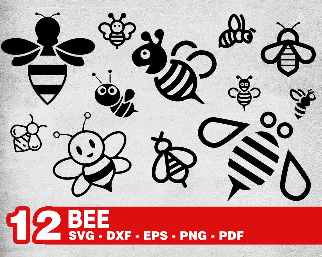 Bee svg/ insect svg/ bee hive svg/ honey svg/ honeycomb svg/ clipart/ decal/ stencil/ cut files/ cuttable file/ cricut file/ silhouette