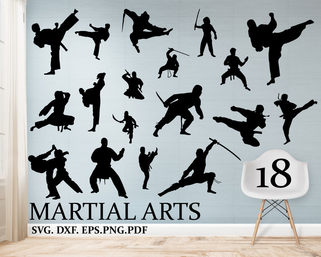 Martial arts svg, Boys Karate, File, Vector, Clip, Art, Commercial & Personal Use, Cricut, Design, Space, Silhouette, Vinyl