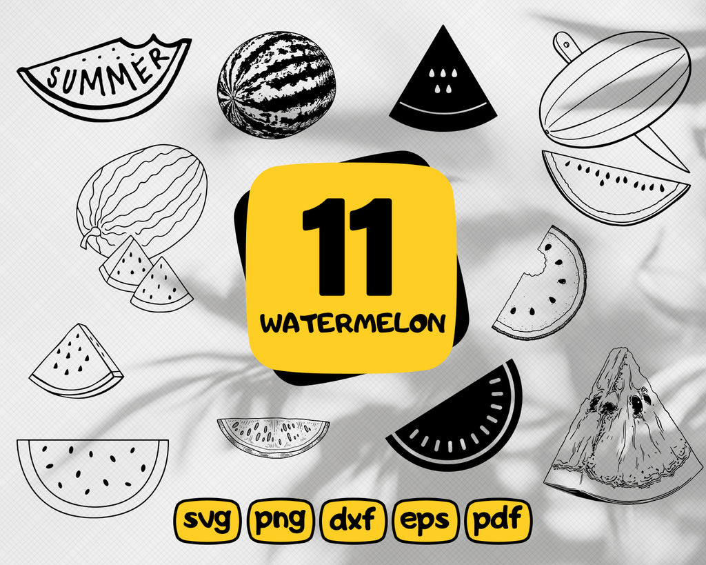 Watermelon svg,Watermelon Clipart / Watermelon SVG / Watermelon Vector / Watermelon Slice SVG / Watermelon SVG Files / svg Files for Cricit / Silhouette