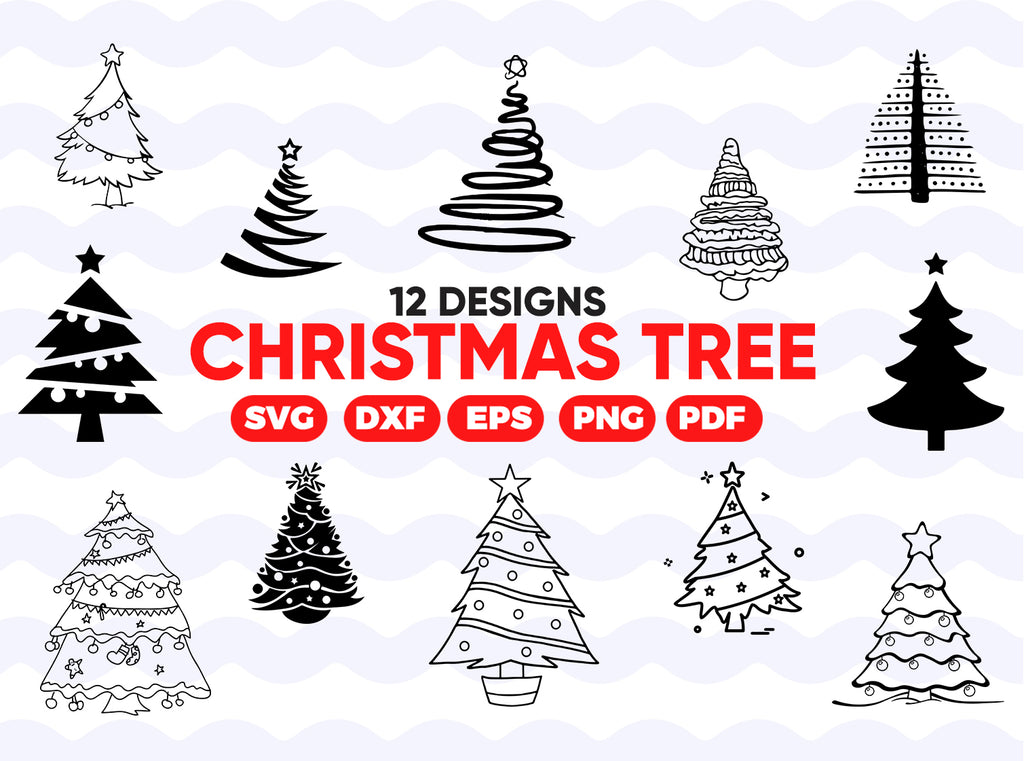 Christmas tree svg, Christmas tree svg, Christmas tree cricut, Christmas tree svg file, Christmas tree clipart, Christmas svg, Christmas trees bundle, Clipart