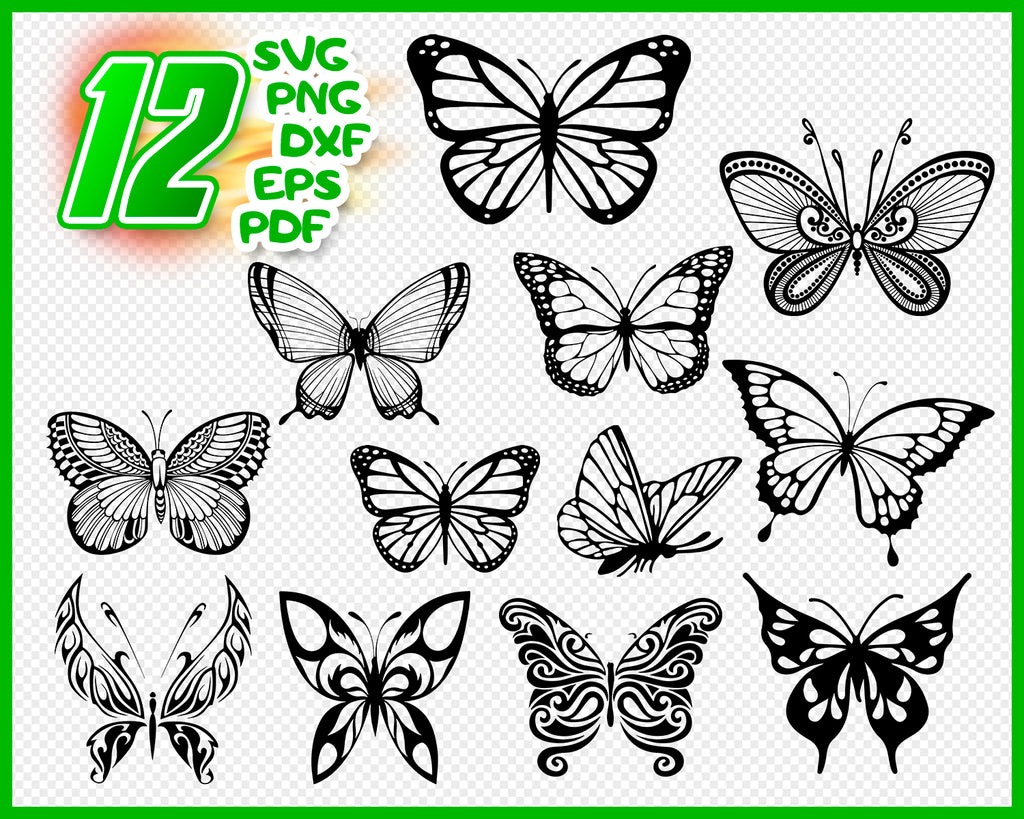 Butterfly Svg Butterfly Vector File Beautiful Butterfly Svg And Png Clipartic