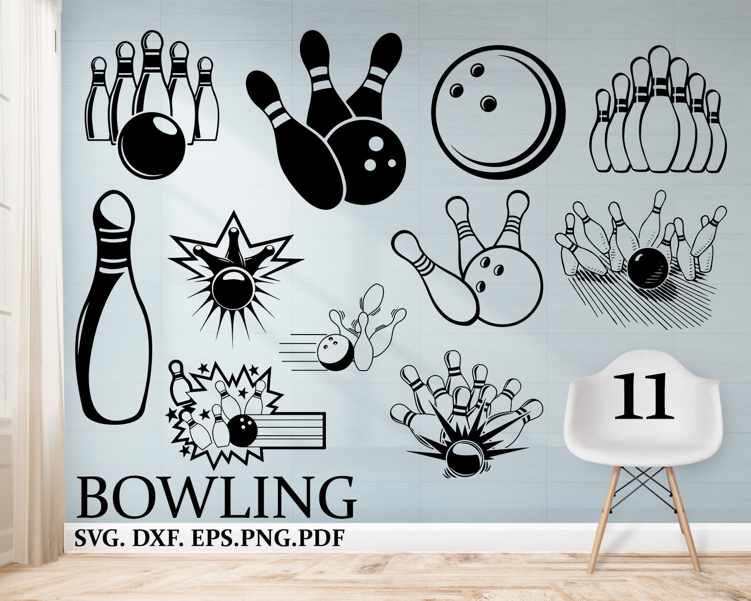 Bowling Svg Bowling Ball Svg Bowling Clipart Cut File Dxf Bowling Clipartic