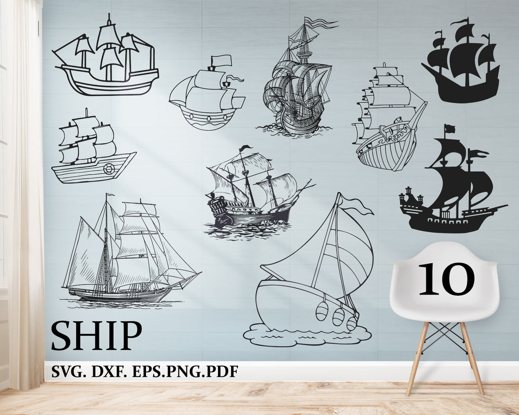 Ship svg, Cruise svg, cruise ship svg, boats svg, ship svg, sailing svg, nautical svg, holiday svg, clipart, decal, stencil, silhouette, cut file