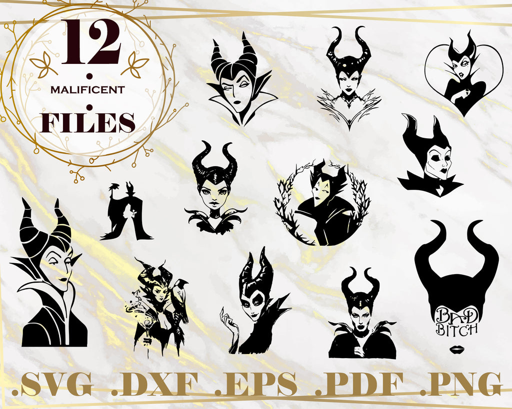 Witch SVG, Cartoon svg, Evil Queen svg, Villain svg, Magician vector, Witch cut file, Witch svg, svg file for cricut, Instant Download