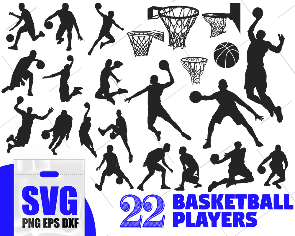 Basketball svg, Basketball bundle svg, basketball heartbeat svg, basketball sport cut files, basketball player svg, basketball silhouette svg