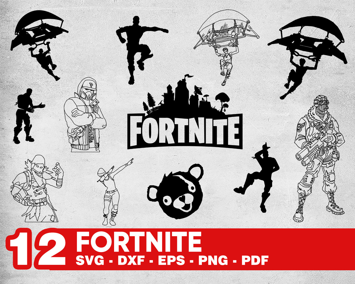 Fortnite Svg Png Dxf Fortnite Bundle Svg Png Dxf Fortnite Logo Svg Png Clipartic