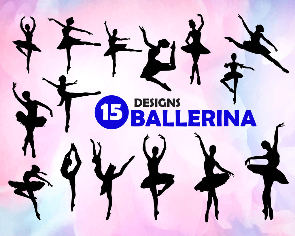 Ballerina Svg Ballerina Svg Ballet Svg Ballerina Silhouette Baller Clipartic