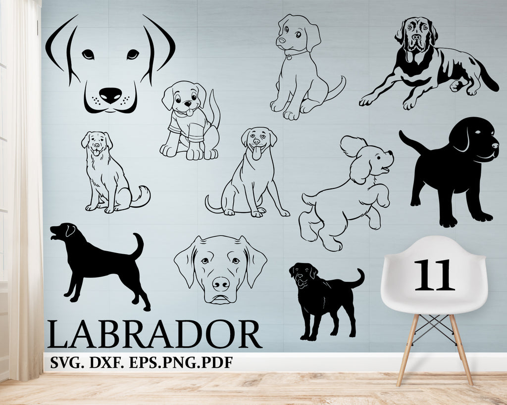 Labrador svg, Love dog, Labrador Svg, Dog Svg, Paw Print, Dog Mom, Svg, Dxf, Png, Svg files for, Fur mom Svg, Silhouette, Cricut