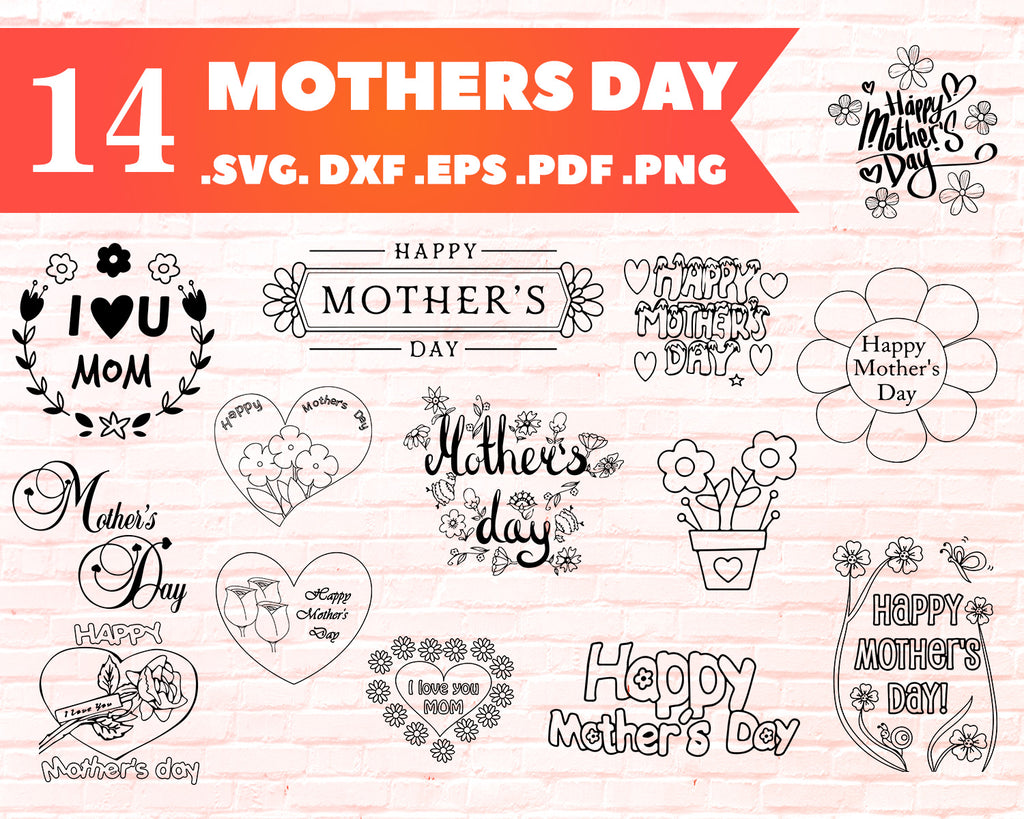 Free Svg files, love between a mother and daughter svg, mother svg, mom svg, mother's day sign svg, cut files, svg, dxf, png, cricut, silhouette. Mothers Day Svg Mom Bundle Mom Life Svg Quotes Sayings Gift Sign Clipartic SVG, PNG, EPS, DXF File