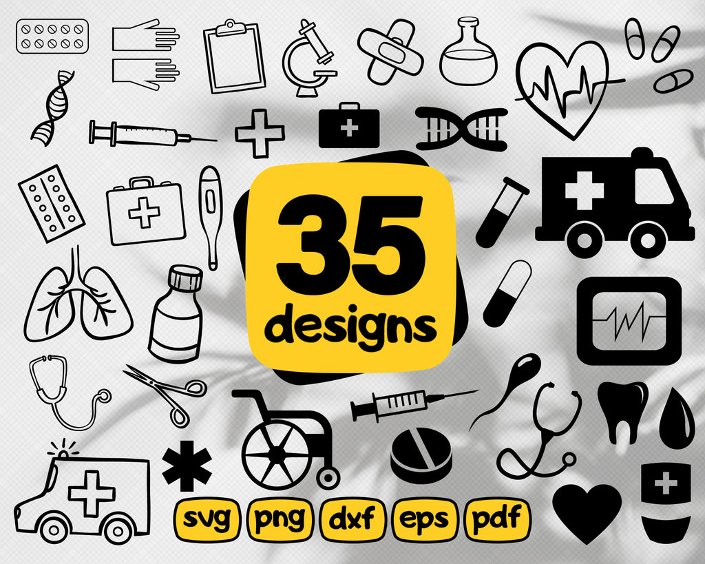 Medical SVG, Nurse SVG, Doctor SVG, Healthcare Svg, Stethoscope Svg,nurse svg, medical team svg, medical svg, nursing svg, bandage svg