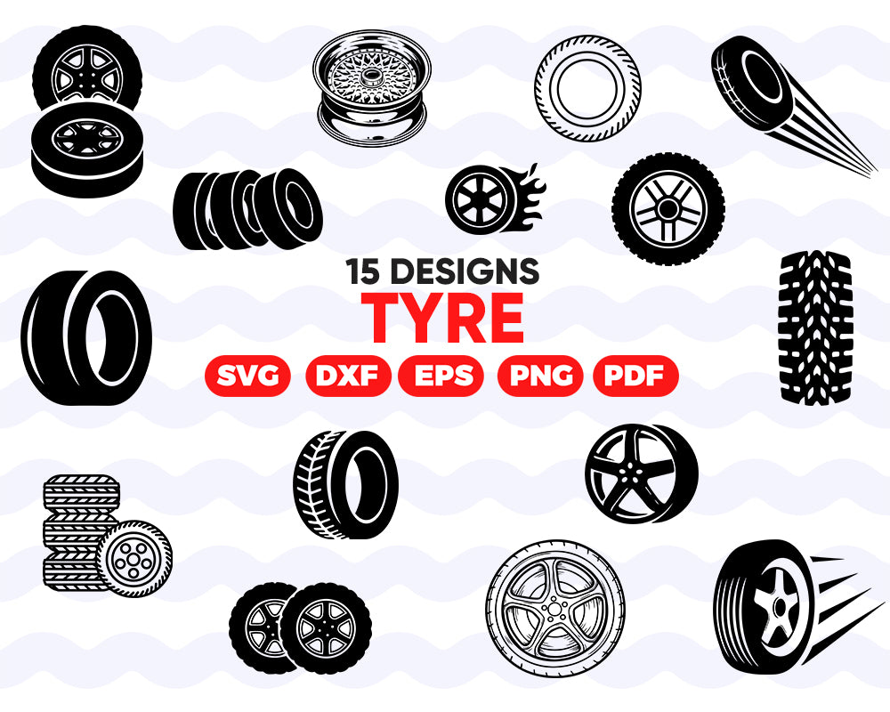 TYRE SVG, tyre, silhouette svg, svg cut file,cricut svg,tyre wheels cut file,tyre element,tyre track,tyre tread,tyre silhouette,tyre clipart