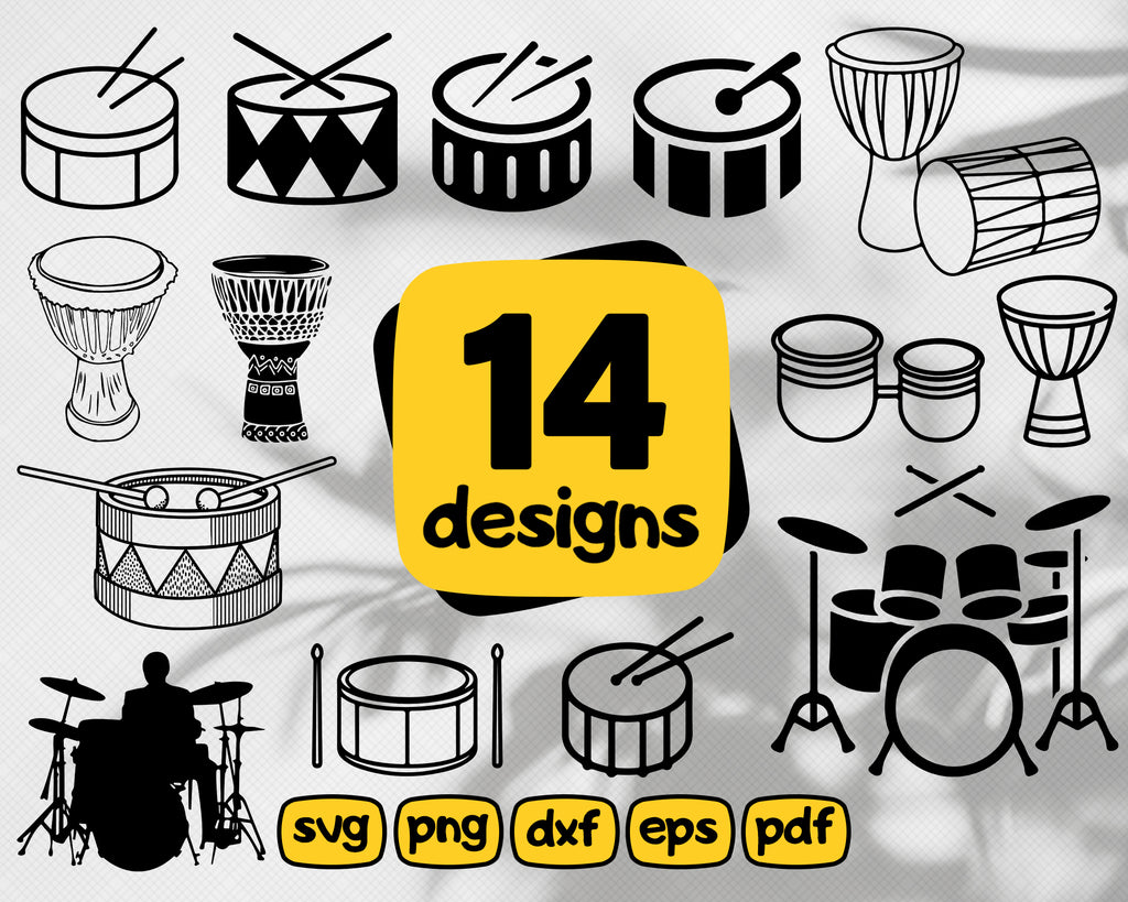 Drum svg, Drum Logo SVG, Snare Drum Svg, Drum Clipart, Drum Files for Cricut, Drum Cut Files For Silhouette, Drum Dxf, Drum Png, Drum Eps, Drum Vector