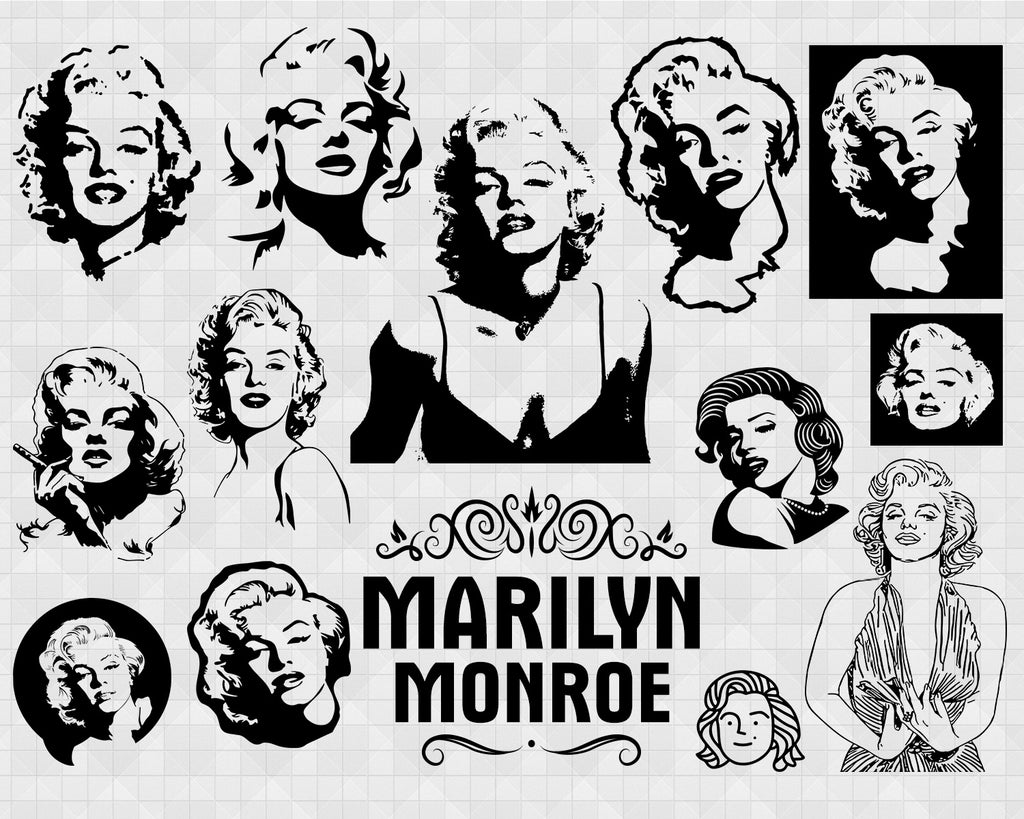 marilyn monroe svg bundle marilyn monroe cricut marilyn monroe sil clipartic marilyn monroe svg bundle marilyn monroe cricut marilyn monroe silhouette monroe vector monroe cut file monroe cricut design