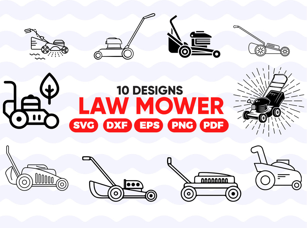 Zero Turn Lawn Mower SVG, Lawn Mower Svg, Landscaping Svg, Lawn Mower Clipart, Files for Cricut, Cut Files For Silhouette, Dxf, Png, Eps