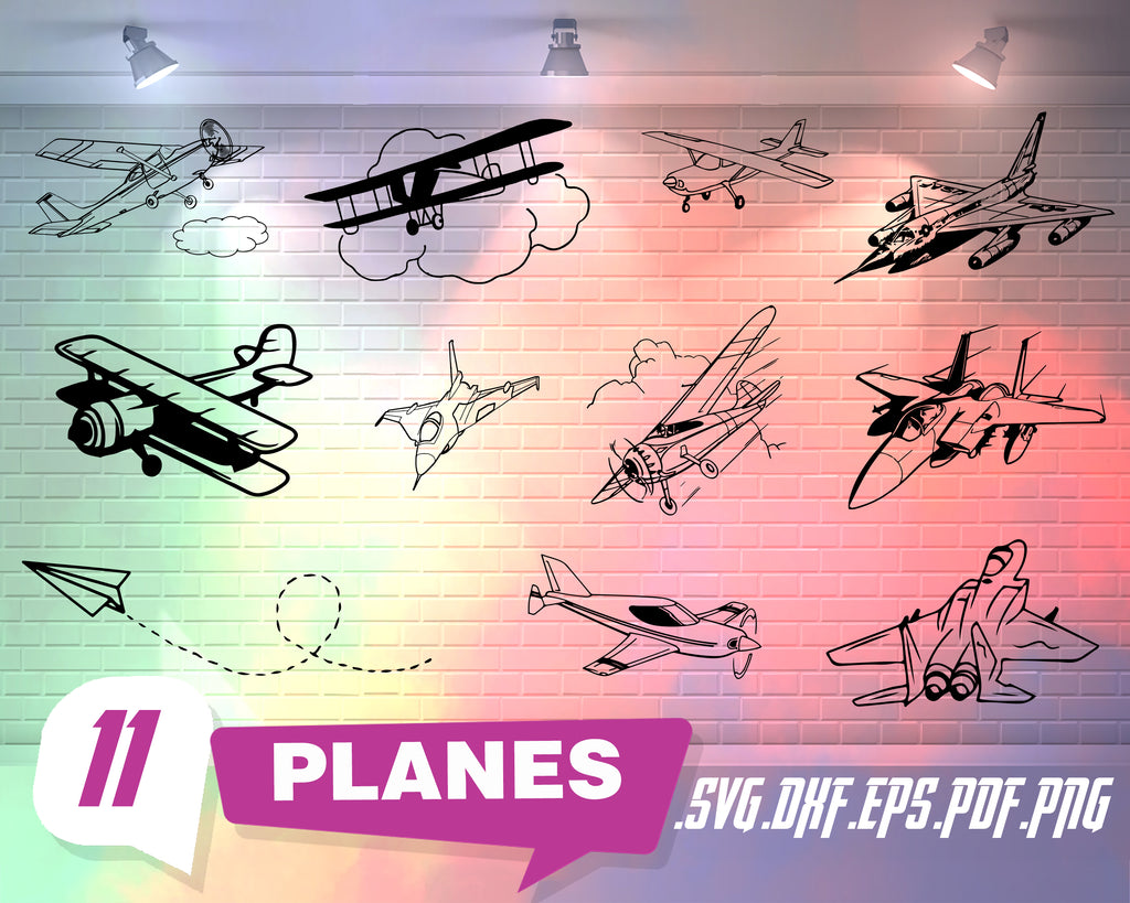 Planes svg, Airplane Svg/ Biplane SVG/ War plane SVG/Military plane/ Airplane Clipart/ Biplane / Aeroplane/ Silhouette/ SVG Files for Cricut/ Silhouette