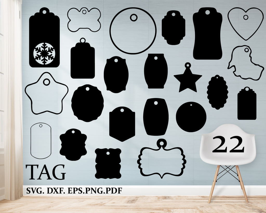 Tag svg, Tags gift, Price tags svg, Label, Tags silhouette, Tags vector, Tags cricut, Tags cut file, Decorative tags files, Tag Gift, tags svg