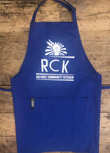 Refugee Community Kitchen Professional Chef Apron - Red, Blue, Black or White