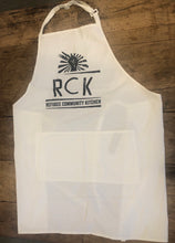 Load image into Gallery viewer, Refugee Community Kitchen Professional Chef Apron - Red, Blue, Black or White
