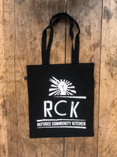 Load image into Gallery viewer, Refugee Community Kitchen Organic Tote Bag - 5 colours