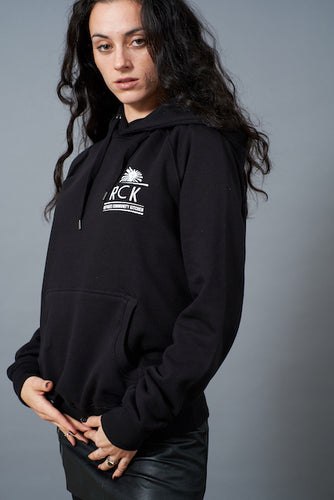Refugee Community Kitchen Logo Hoodie - Black