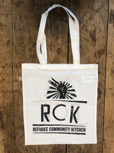 Refugee Community Kitchen Organic Tote Bag - 5 colours