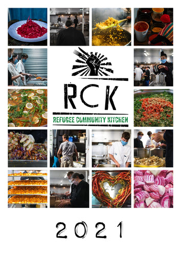 Refugee Community Kitchen's 2021 Recipe Calendar